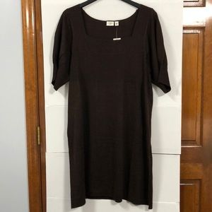 Sweater dress or Ling sweater 18/20 NWT Brown